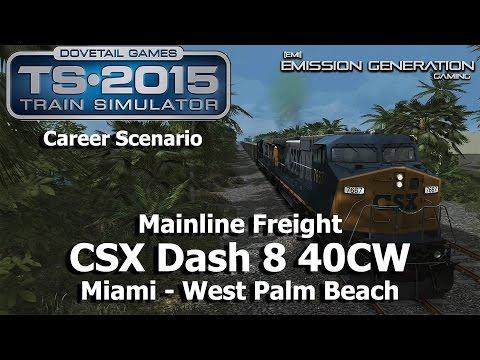 Mainline Freight - Career Scenario - Train Simulator 2015