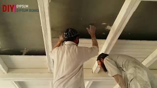 false ceiling diy ||amazing skills false ceiling
