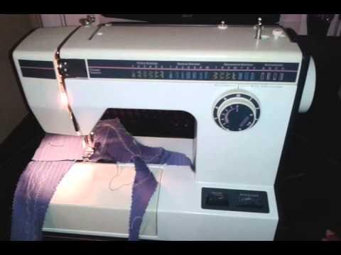 Montgomary Ward Sewing Machine Demo YouTube Extraordinary Montgomery Ward Sewing Machine Manual