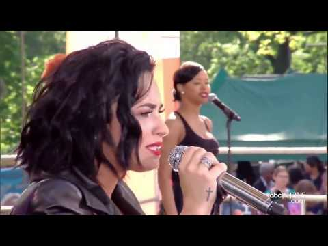 Demi Lovato - For You (Live At Good Morning America 2016)