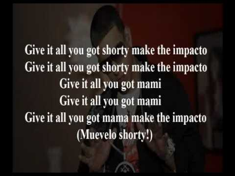 daddy yankee impacto lyrics