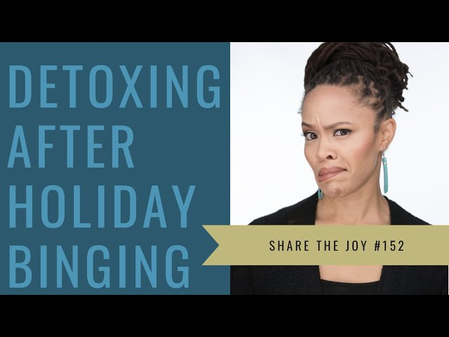 How do I detox my body after my holiday shenanigans?