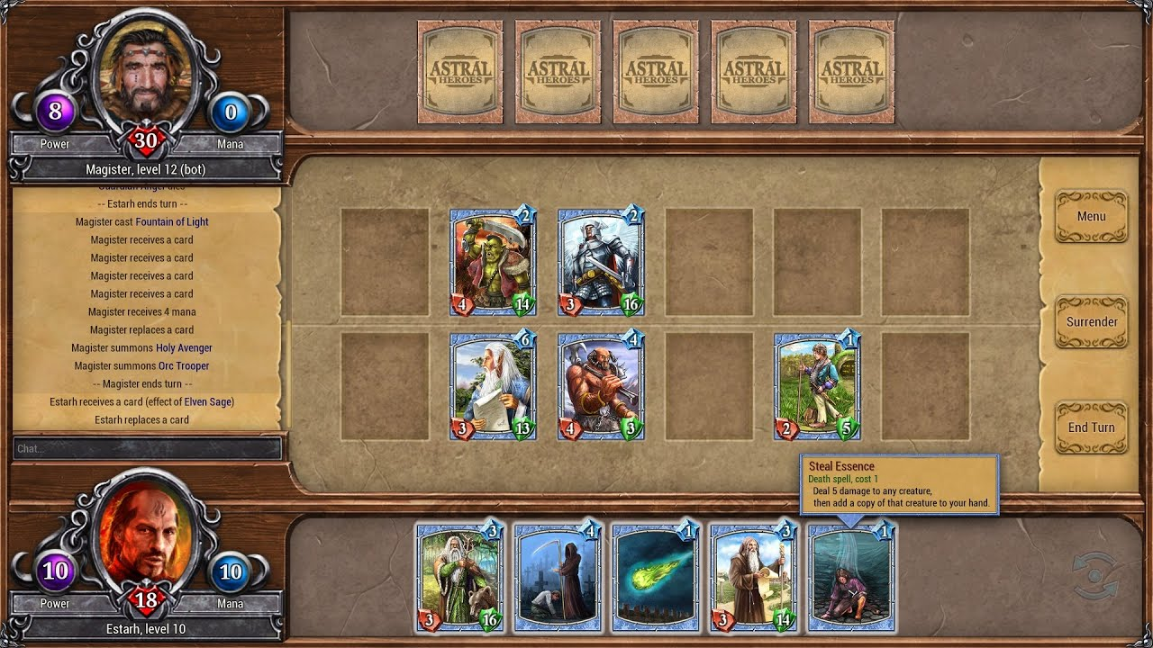 Astral Heroes: strategy card game - Forum