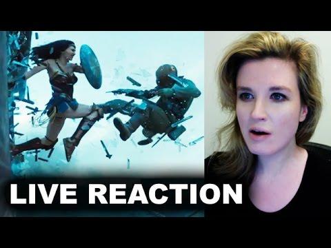 Wonder Woman Origin Trailer REACTION