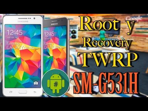 Root y Recovery TWRP a Samsung Galaxy Grand Prime SM-G531H  -  Método Fácil y estable