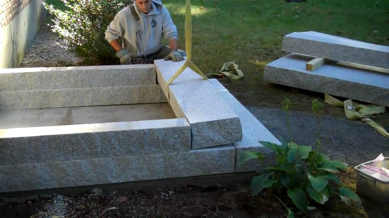 Granite Steps Installed Youtube