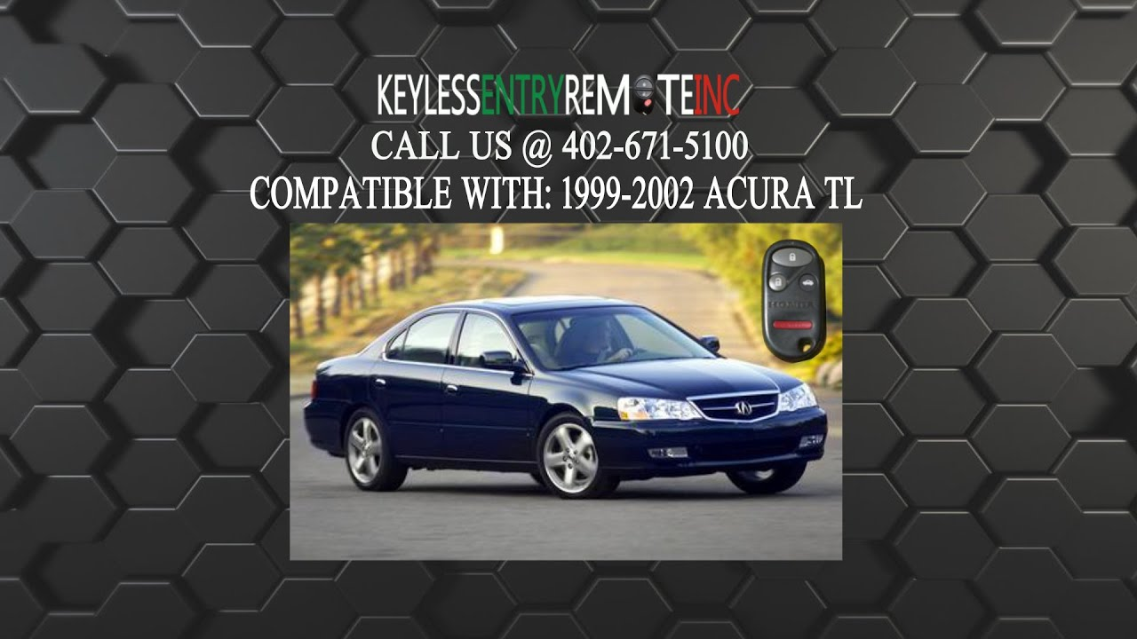 How To Replace Acura TL Key Fob Battery YouTube - Battery for 2000 acura tl