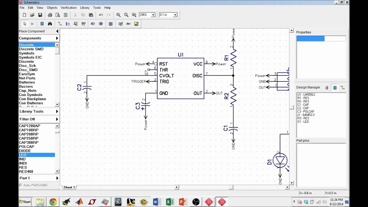 small resolution of pcb design using diptrace pt 2 organizing schematics
