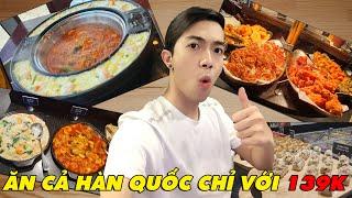 CrisDevilGamer ĂN CẢ HÀN QUỐC CHỈ VỚI 139K | Tối nay ăn gì?