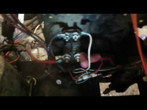 Solenoid Test Craftsman lawn tractor - YouTube
