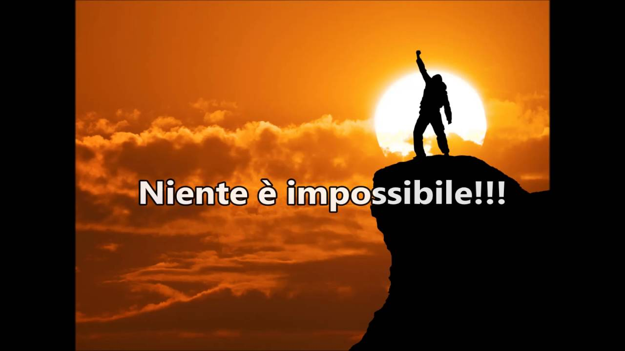 Niente è Impossibile - Base musicale con testo (Nothing is