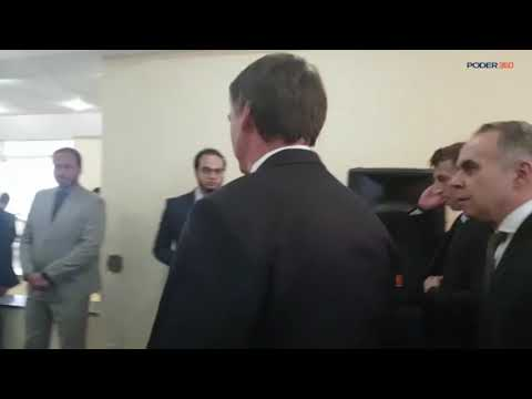 Jair Bolsonaro Se Reúne Com O Primeiro Ministro De Israel, Benjamin Netanyahu
