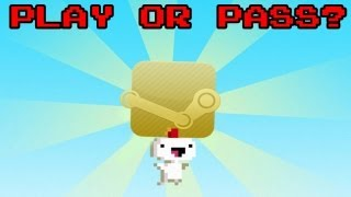 Play or Pass? - FEZ on Steam! - PC (Review/Gameplay)