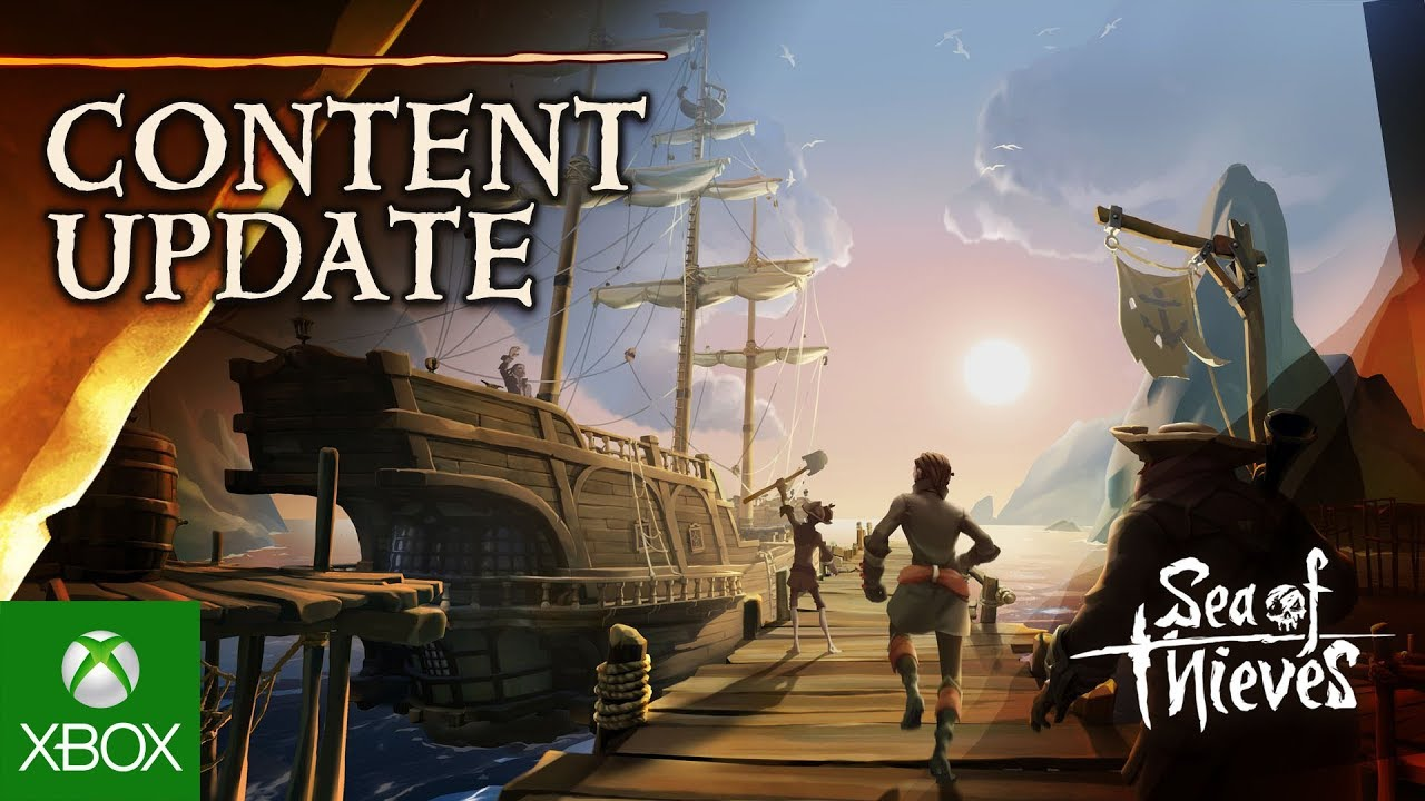 Sea of thieves technical alpha update smooth sailing