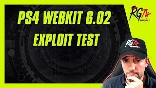 PS4 Webkit 6.02 Test exploit. Vulnerabilidad.