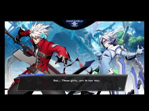 Ragna and the Robo-Harem!? Blazblue Cross Tag Story: Blazblue Chapter 5 |