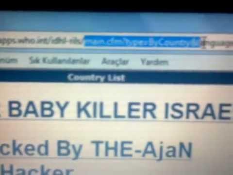 World Health Organization Website Hacked by THE-AjaN Turkish Hacker