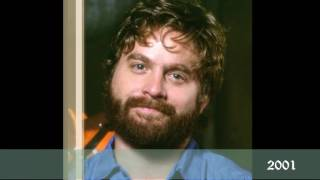 Как менялся Зак Галифианакис в течение 29 лет | Zach Galifianakis