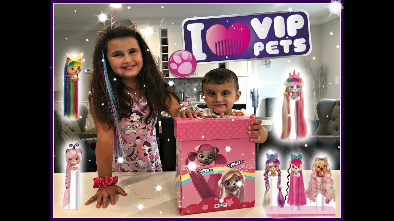I Love Vip Pets Surprise Unboxing See Who We Get Vippets Youtube