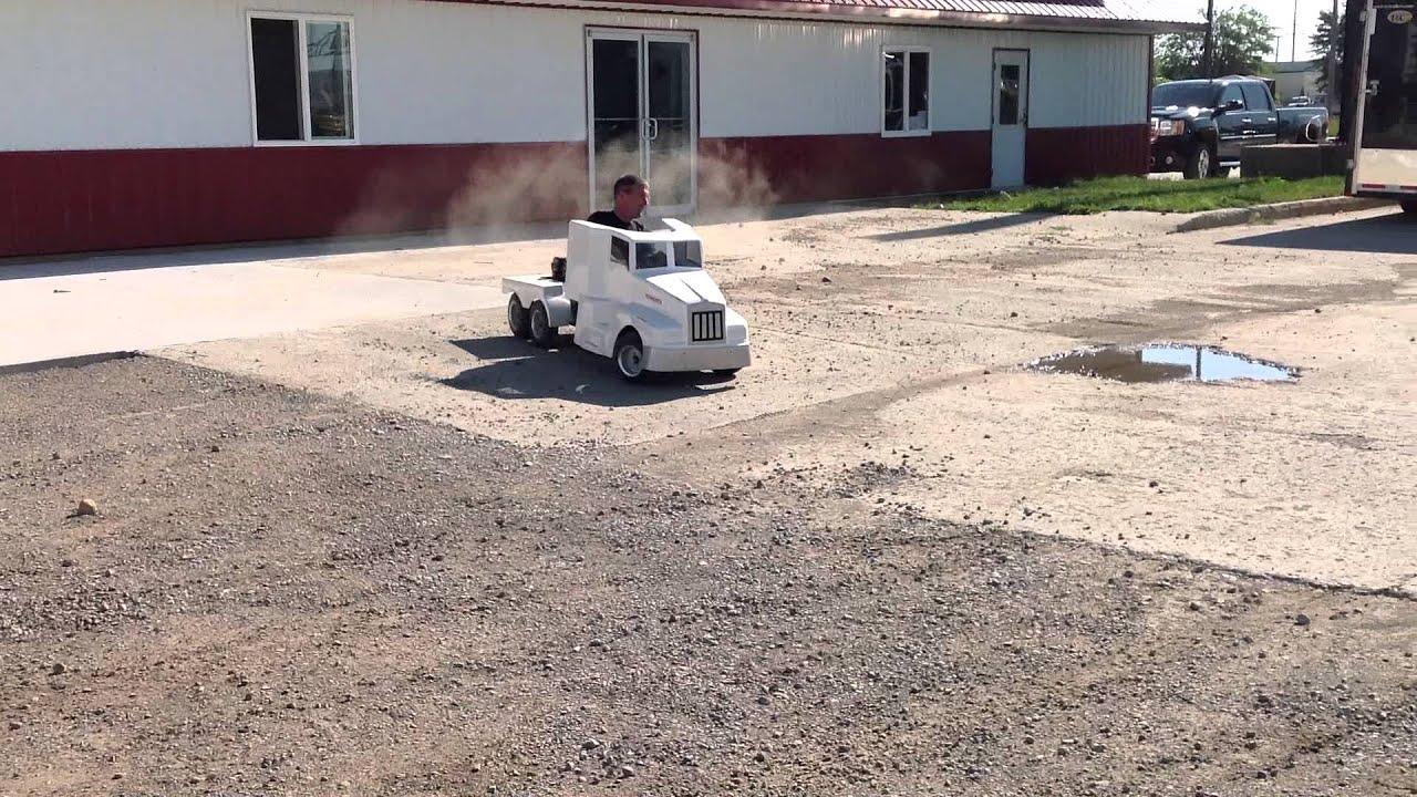 Kenworth Go Cart For Sale On Ebay Live Auction Youtube