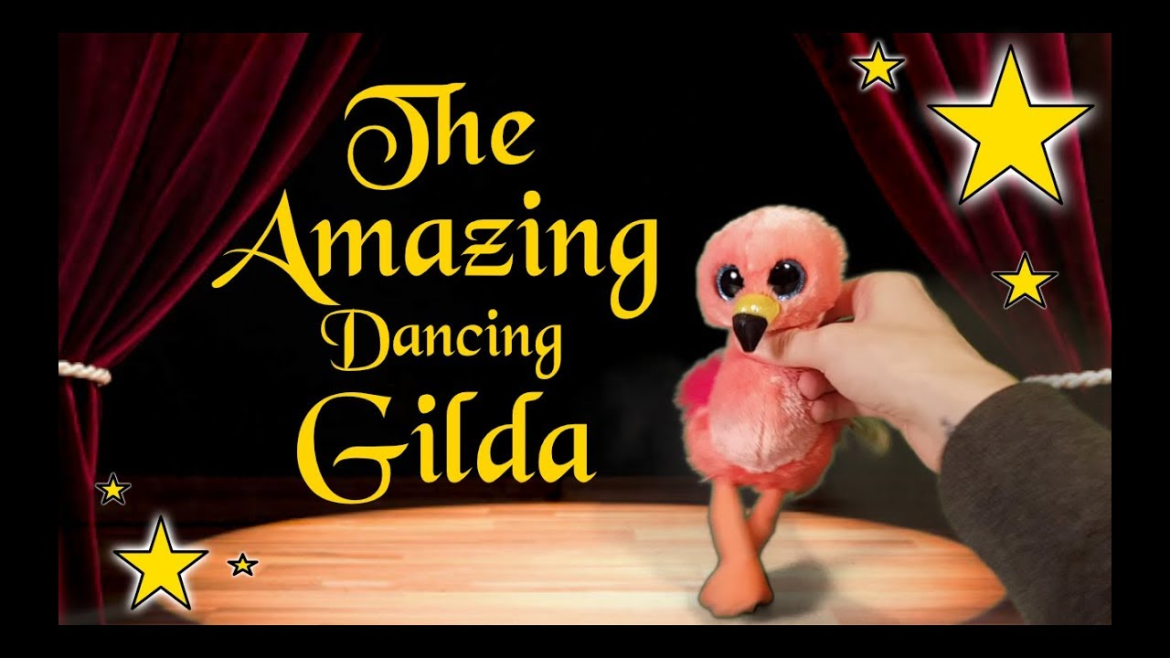 Beanie Boos The Amazing Dancing Flamingo Gilda - YouTube c7dc8c97f4a2