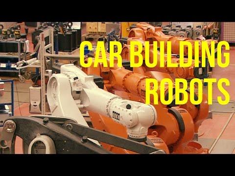Car Building Robots production - KUKA Plant