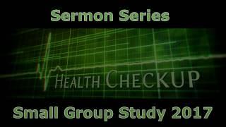 Health Checkup Small Group Sermon Series
