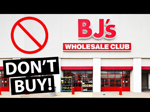 10 Things You Should NEVER Buy At BJ's Wholesale Club