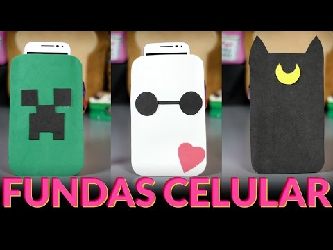 Full download manualidades faciles forro de celular o - Fundas con goma eva ...