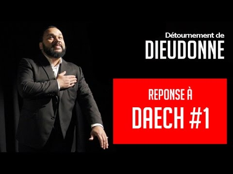 [Comedy] Dieudonné replies to ISIS #1 (English subtitles)