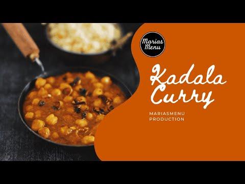 Kerala Style Easy And Tasty Kadala Curry - A Perfect Side Dish For Puttu, Appam, Idiyappam