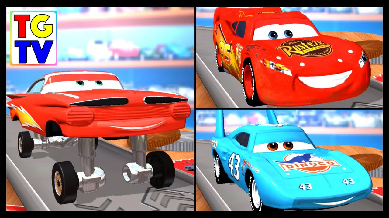 Disney Pixar Cars Lightning Mcqueen Amp More Daredevil