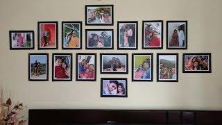 DIY | Newspaper Photo Frame at Home Tutorial | Photo Frame Gift Ideas | Interior Decoration Video