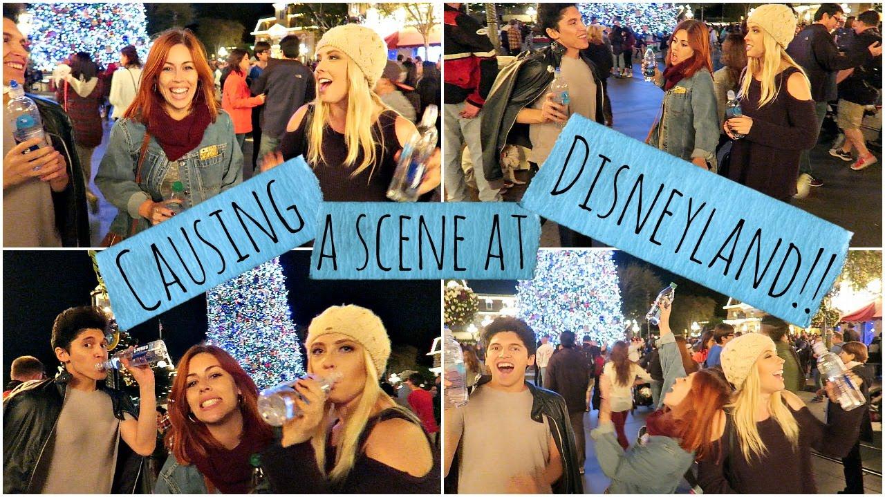 Download Causing A Scene At Disneyland!!