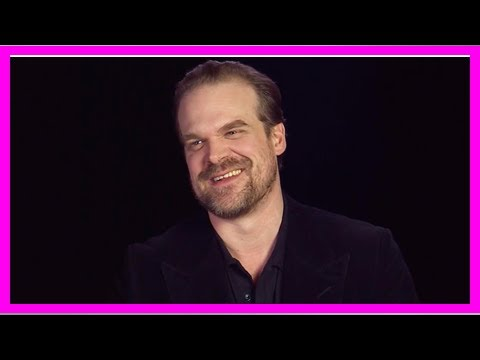 David Harbour reveals who he wants to work with the third stranger