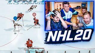 ГОЛ НА ПОСЛЕДНЕЙ СЕКУНДЕ // ЭПИЧНЫЙ КУБОК АМКАЛА ПО НХЛ 20