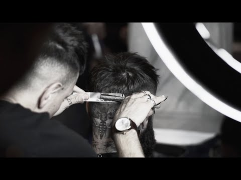 Choppy Crop Haircut & Hairstyle with Cal Newsome & Ricki Hall | Bull&Co x The Handsome Devils Club