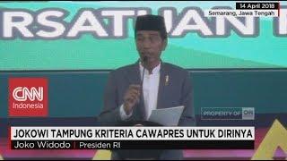 Jokowi Tampung Kriteria Cawapres dari PPP untuk Dirinya