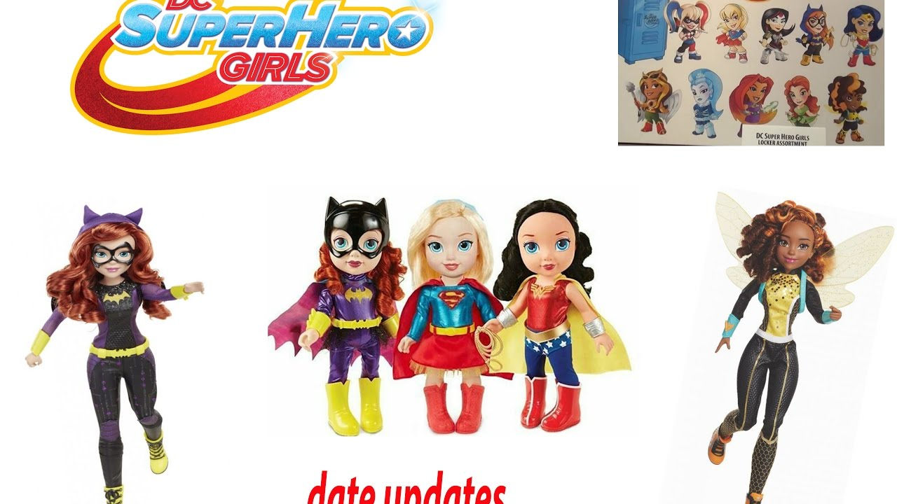 New Dc From Superhero Girls Toys 2 Coming Soon 2017 2018