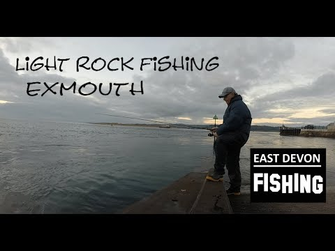 Light Rock Fishing At Exmouth.