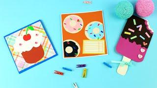 Как сделать открытку со сладостями своими руками(Как сделать открытку со сладостями своими руками? В этом мастер-классе мы сделаем несколько оригинальных..., 2016-08-01T10:00:04.000Z)