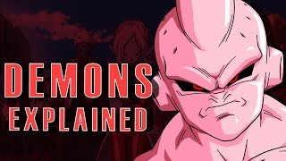Demons Explained In Dragon Ball