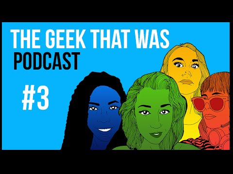 The Geek That Was Pod #3 - guest Jackie from Newsy News!