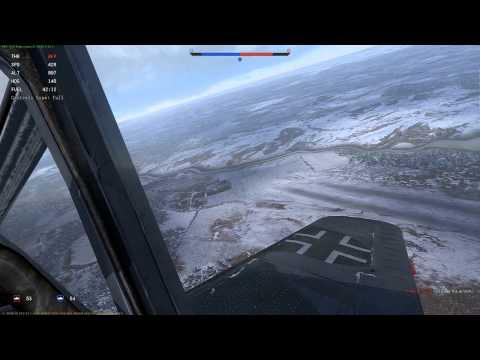 War Thunder - Fw 190 F-8 Full Real Battle Gameplay