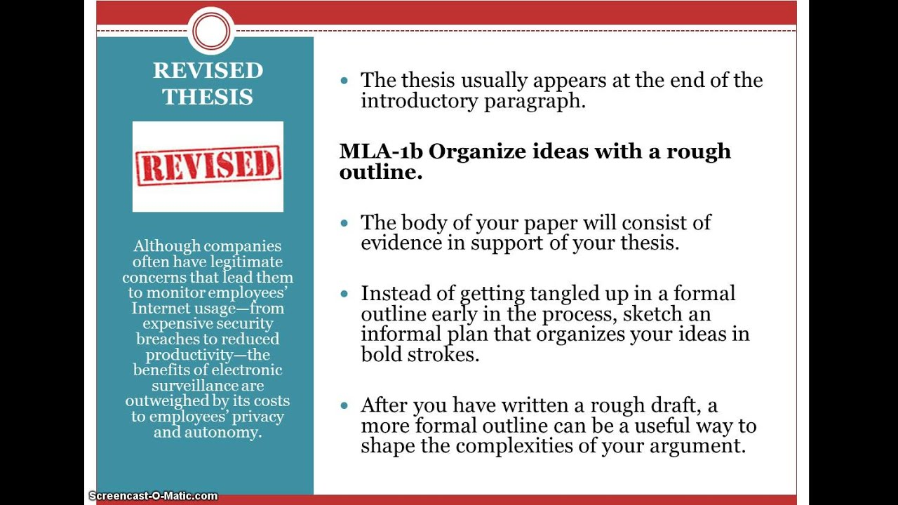 support a thesis A good thesis has two parts it should tell what you plan to argue, and it should telegraph how you plan to argue—that is, what particular support for your claim is going where in your essay.