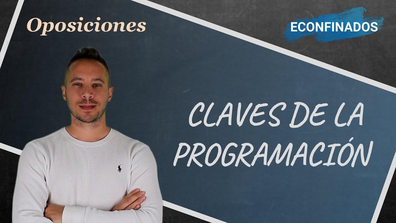 Claves para elaborar la programación didáctica