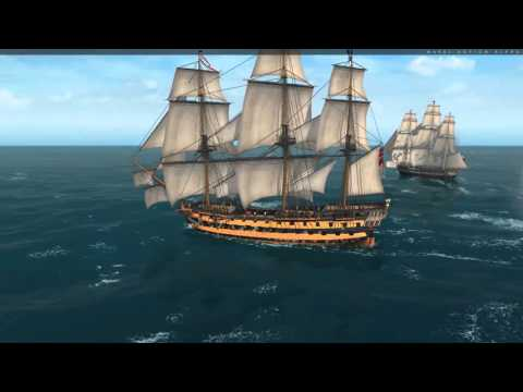 Naval Action Game - Ep 6. 3rd Rate vs Constitution