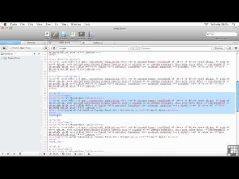 Responsive Web Design Tutorial | Applying Formatting To The News Feed