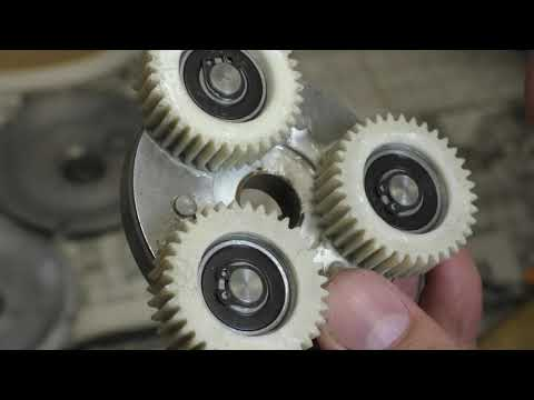 Разбираем мотор колесо. Мотор колесо из Китая 350 W