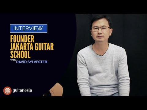 Guitanesia: Interview with David Sylvester, founder of Jakarta Guitar School